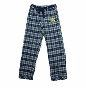 California Golden Bears Women's Revelation Plaid Pants - Navy/Gold