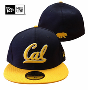 California Golden Bears New Era 59FIFTY&reg Team Basic Fitted Cap - Navy/Gold