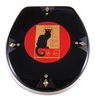 Black Cat Toilet Seat