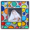 Multi Polka Dot Photo Frame
