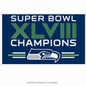 2014 Super Bowl XLVIII Champions Seattle Seahawks Flag 3x5