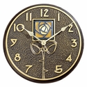 Amber Dard Hunter Rose Clock