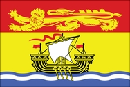 Canadian New Brunswick Flag 3x5