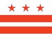 District of Columbia Flag 3x5