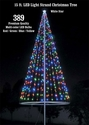 Flagpole Christmas Tree Kit - Multicolor - Sold Out
