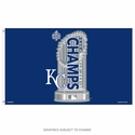 Kansas City Royals 2015 World Series Champs Flag 3'x5'