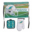 Miami Dolphins Barbeque Tailgate Set