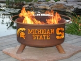 Michigan State Outdoor Fire Pit
