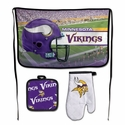 Minnesota Vikings Barbeque Tailgate Set