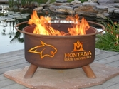 Montana State Outdoor Fire Pit