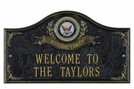 Navy Military House Plaque