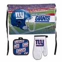 New York Giants Barbeque Tailgate Set