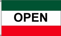 Open Flag (Green/Red)