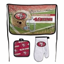 San Francisco 49ers Barbeque Tailgate Set