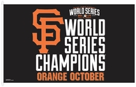 San Francisco Giants 2014 World Series Flag 3x5