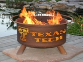 Texas Tech Outdoor Fire Pit