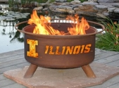 University of Illinois Outdoor Fire Pit