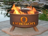 University of Oregon Outdoor Fire Pit
