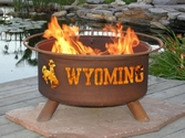 University of Wyoming Outdoor Fire Pit