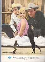 MBH25722 The Misfits 1961 Japanese Movie Program