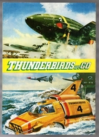 MBH26661 Thunderbirds Are GO 1966 Japan Movie Program