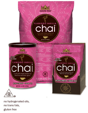 Flamingo Vanilla Decaf <br>Sugar-Free Chai™