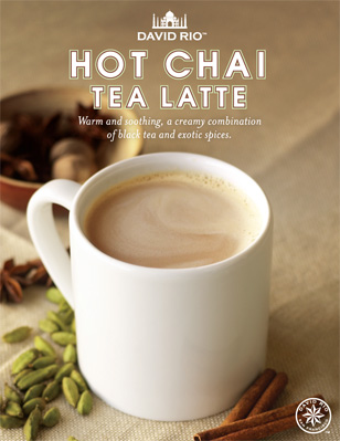 Hot Chai Tea Latte