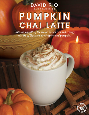 NEW Pumpkin Chai Latte