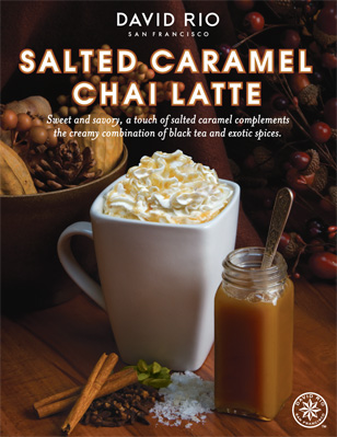 NEW Salted Caramel Chai Latte