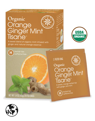 Orange Ginger Mint Tisane™ <br>(caffeine-free)