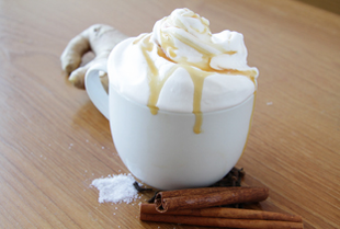 Salted Caramel Chai Latte