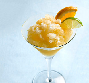 Spice Bourbon Slush