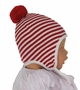 NEW Angel Dear Red Striped Pilot Style Hat