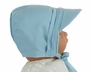 NEW Blue Cotton Hat with Pintucks and Button Trim