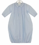 "<img src=""http://site.grammies-attic.com/images/blue-sold-1.gif""> NEW Feltman Brothers Blue Daygown and Hat Set"