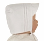 "<img src=""http://site.grammies-attic.com/images/blue-sold-1.gif""> NEW Feltman Brothers White Batiste Hat with Fagoting"