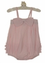NEW Ruffle Butts Vintage Style Pink Striped Sunsuit