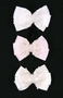 NEW Sarah Louise Hairclip with Lace and Pearl Trimmed Bow in White, Pink, or Ivory