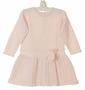 NEW Sarah Louise Pink Cable Knit Dress for Toddlers