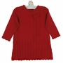 NEW Sarah Louise Red Cable Knit Dress for Baby Girls