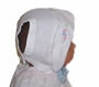 Vintage 1930s White Baby Bonnet with Embroidery and Tatted Edging
