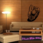 Baseball Glove And Ball Throwing Hitting Pitching Batting Catching Sliding Swinging CDS057 Sports Vinyl Wall Decal - Wall Mural - Car Sticker  SWD