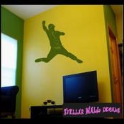 Baseball Pitcher MC008 Sports Icon Wall Mural Vinyl Decal Sticker SWD