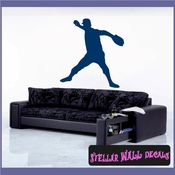 Baseball Pitcher ST002 Sports Icon Wall Mural Vinyl Decal Sticker SWD
