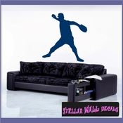 Baseball Pitcher ST002 Sports Icon Wall Mural - Vinyl Wall Decal - Sticker SWD
