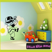 Baseball pitcherMC004 Sports Icon Wall Mural Vinyl Decal Sticker SWD