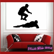 Baseball ST004 Sports Icon Wall Mural Vinyl Decal Sticker SWD