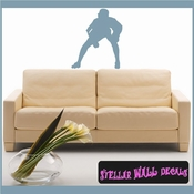 Baseball ST006 Sports Icon Wall Mural Vinyl Decal Sticker SWD