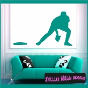 Baseball ST007 Sports Icon Wall Mural Vinyl Decal Sticker SWD