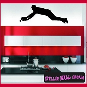 Baseball ST009 Sports Icon Wall Mural Vinyl Decal Sticker SWD
